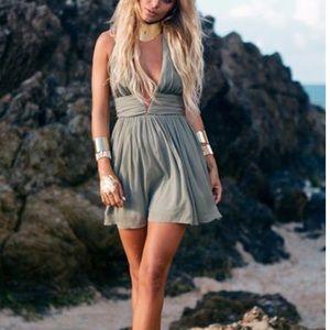 Sabo Skirt Amanjena dress in olive NWT